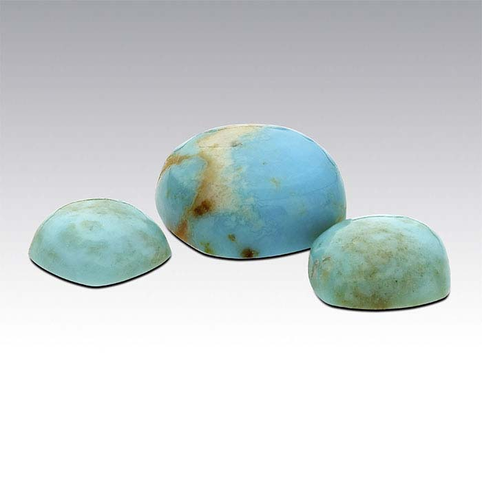 American Mined™ Mona Lisa Turquoise™ Cushion Cabochons