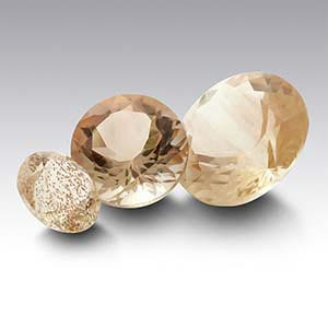 American Mined&trade Oregon Schiller Sunstone Round Faceted Stone
