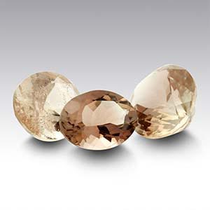 American Mined&trade Oregon Schiller Sunstone Oval Faceted Stone