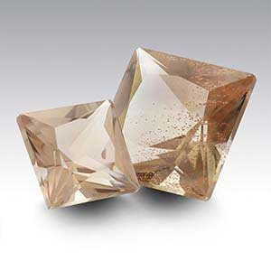 American Mined&trade Oregon Schiller Sunstone Princess Faceted Stone