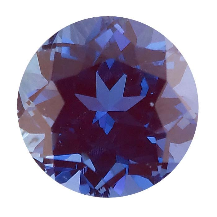 76fdb2182fed4 Lab-Created Alexandrite 2mm Round Faceted Stone