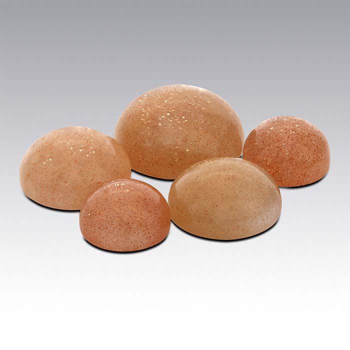 Sunstone Round Cabochons
