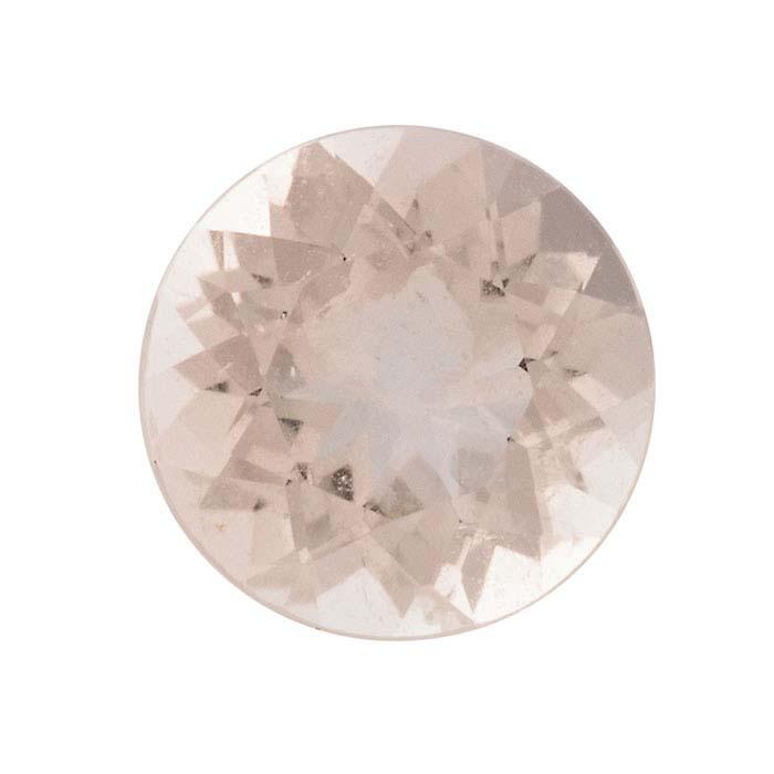Morganite Round Faceted Stones