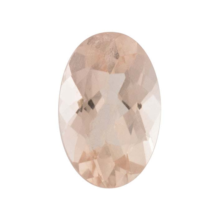 Morganite Oval Faceted Stones