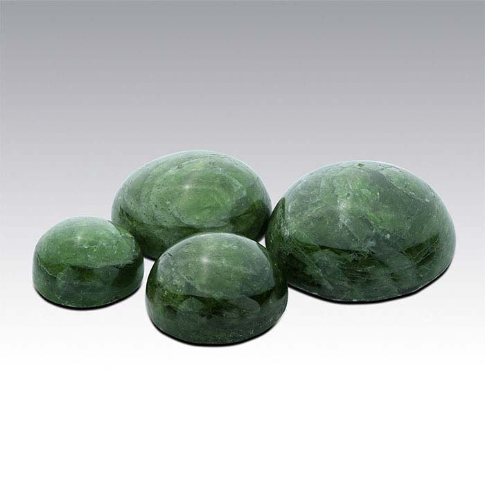 Chrome Diopside 8mm Round Cabochon