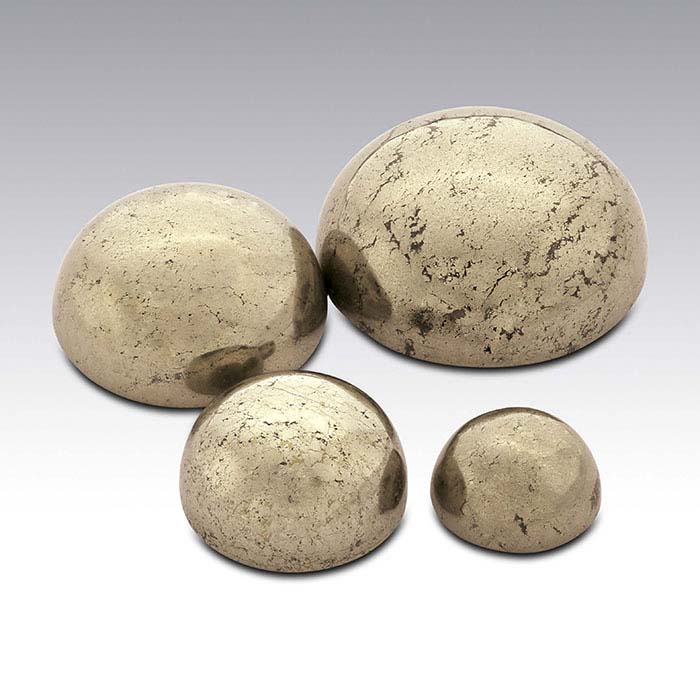 Pyrite Round Cabochons