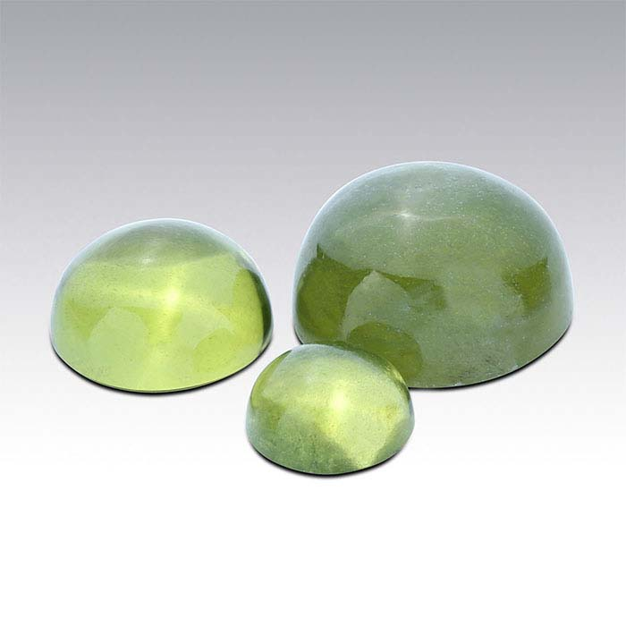 Vesuvianite 6mm Round Cabochon