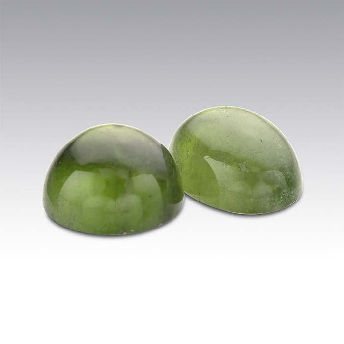 Vesuvianite 8 x 6mm Oval Cabochon