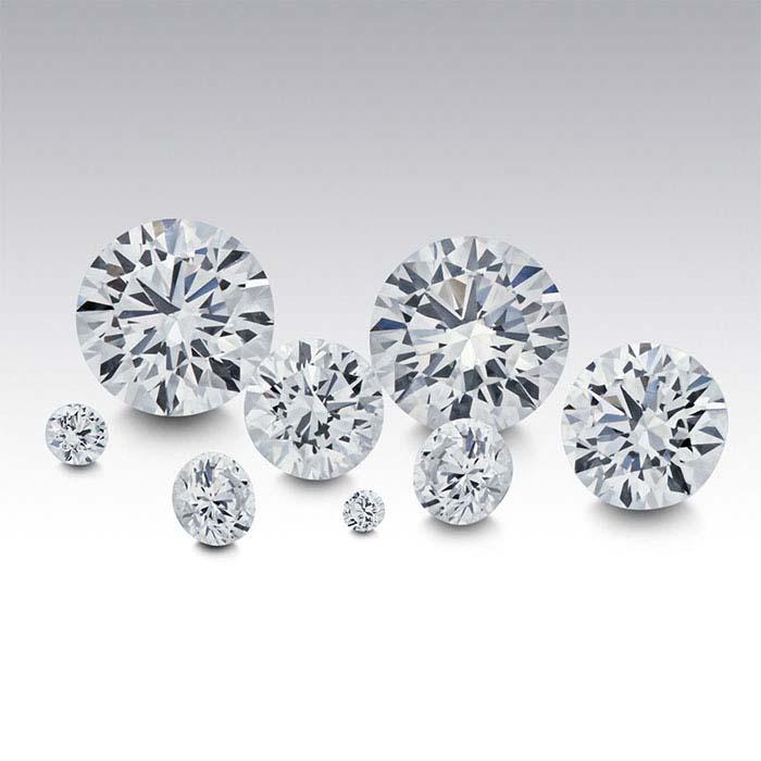 Diamonds Round, SI1
