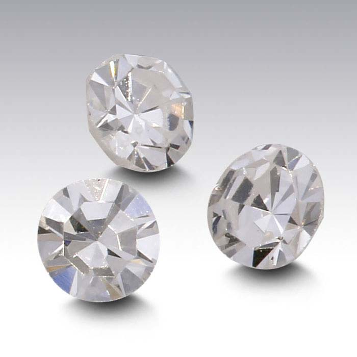 Round Single-Cut Diamonds, SI2