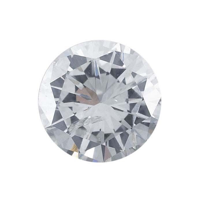 Mens 14k Yellow Gold Diamond Inlay Cross Pendant .02 Ct, G-H Color, I1 Clarity