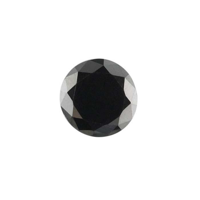 Treated Black Diamonds Round
