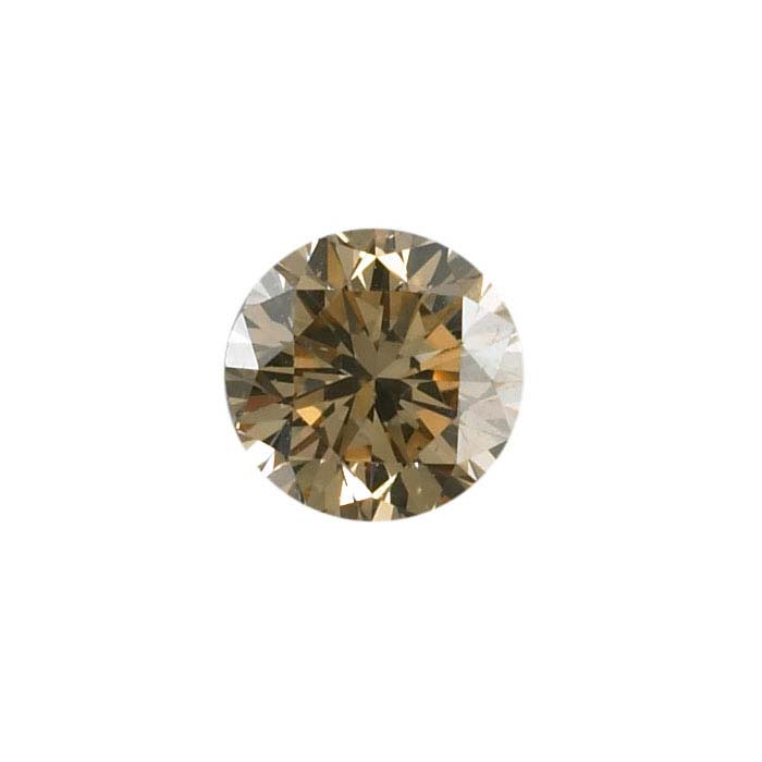 Natural Brown Diamonds Round, SI