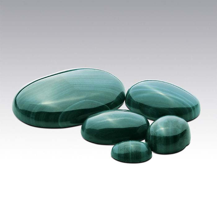 Malachite 25 x 18mm Oval Cabochon