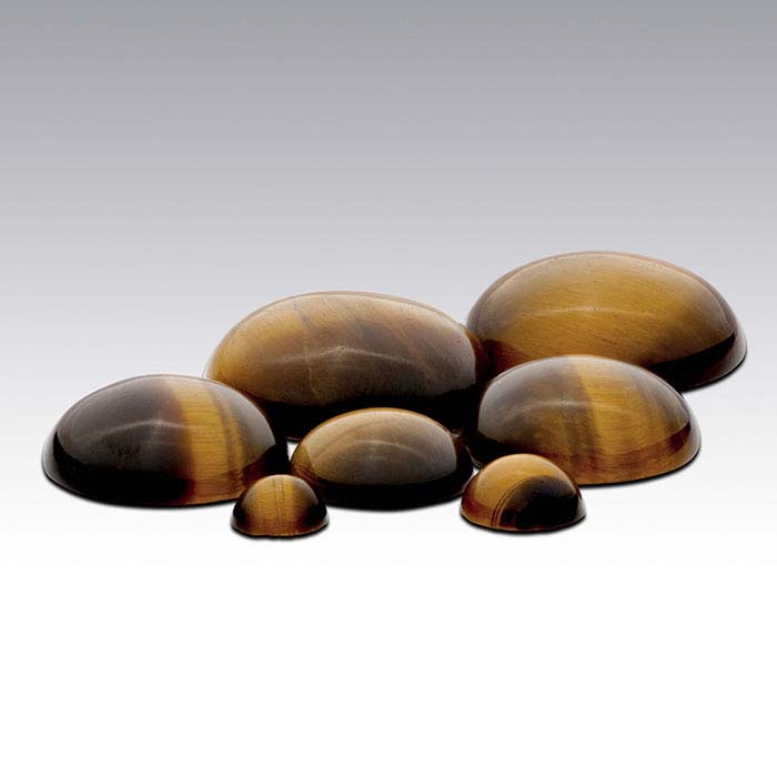 Tiger's Eye 8mm Round Cabochon