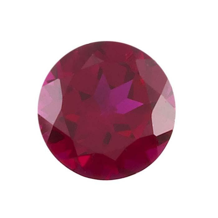 January Birth Stone Garnet Red Round Shape 2mm Size