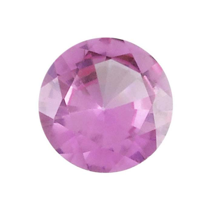 Pink Tourmaline 8mm Round Faceted Stone