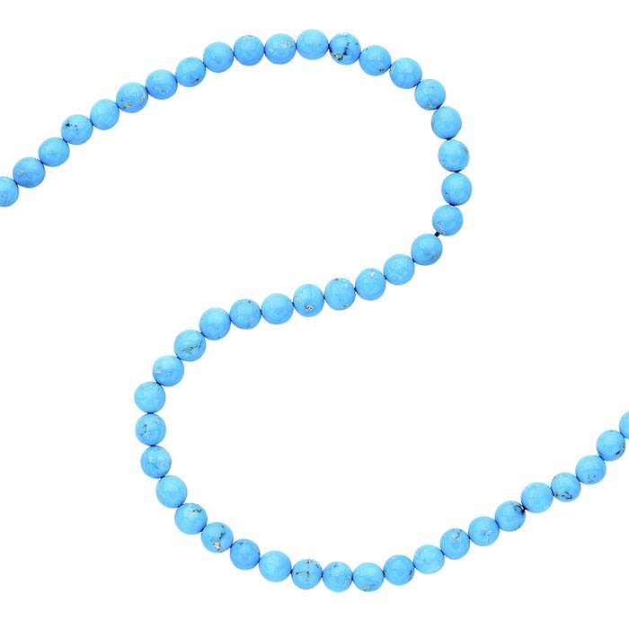 American Mined™ BlueBird Turquoise™ Round Beads