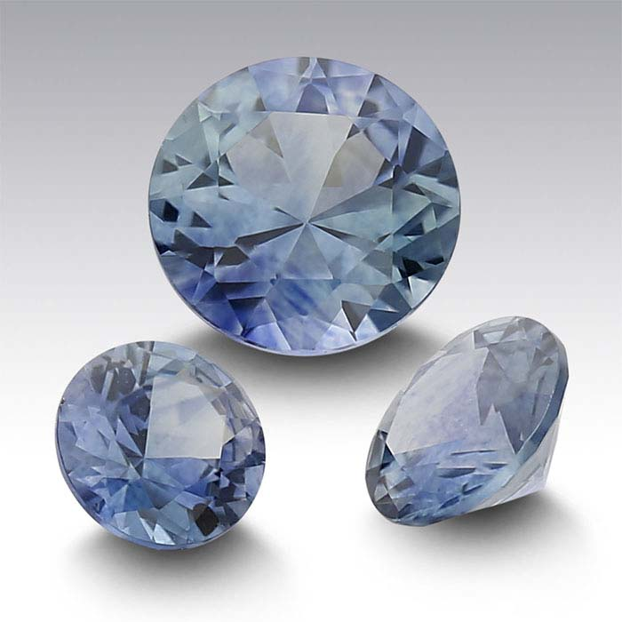 American Mined™ Montana Sapphire™ Round Faceted Stones