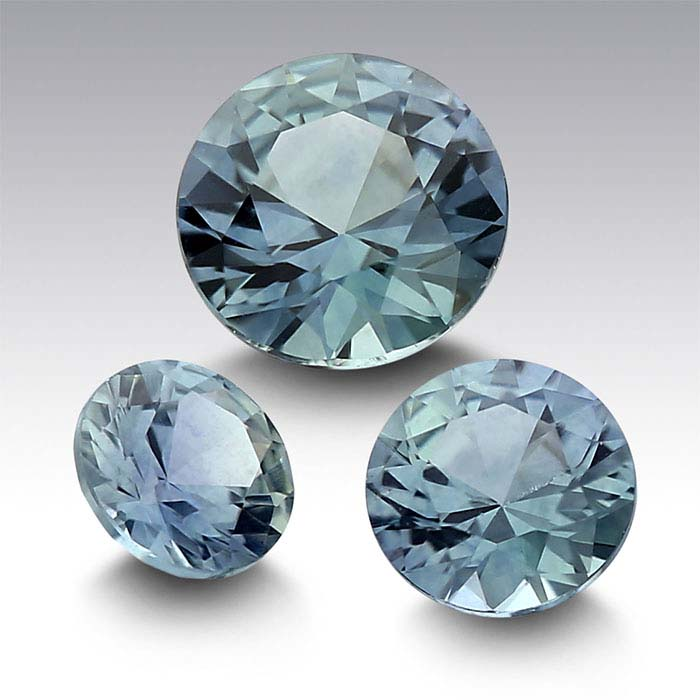 American Mined™ Teal Montana Sapphire™ Round Faceted Stones