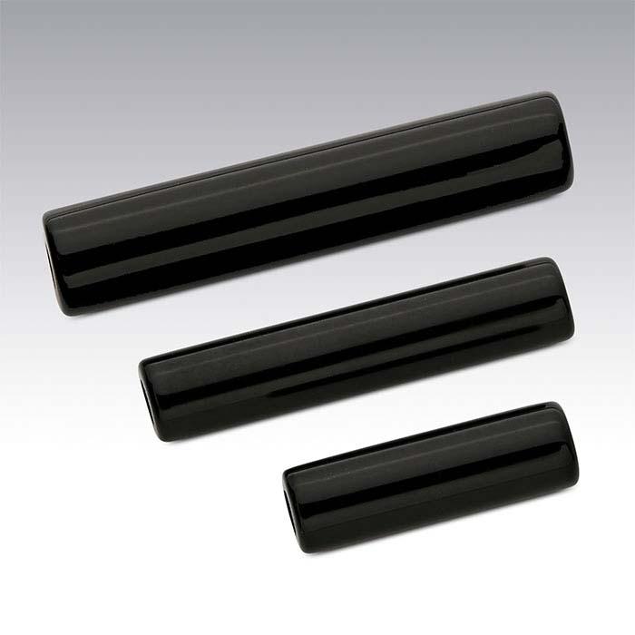 Black Onyx Tube Beads