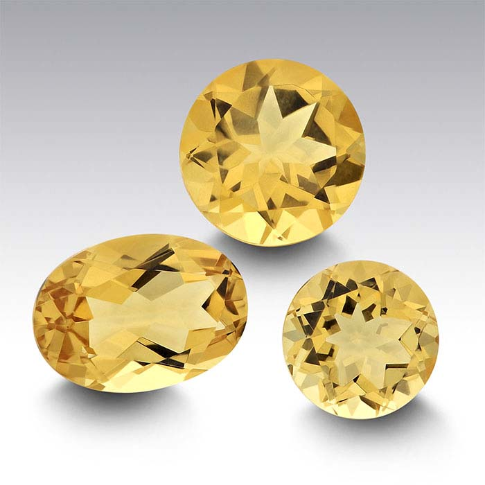 Yellow Beryl Round Faceted Stones