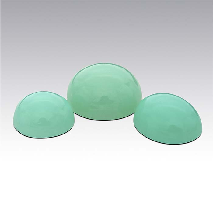 Mint-Green Chrysoprase Round Cabochons