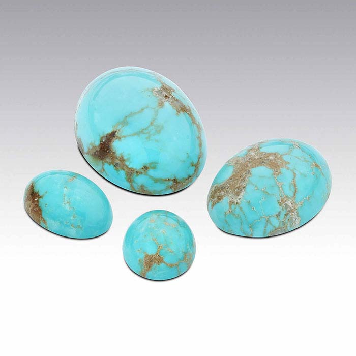 American Mined™ Gold Canyon Turquoise™ 14 x 10mm Oval Cabochon