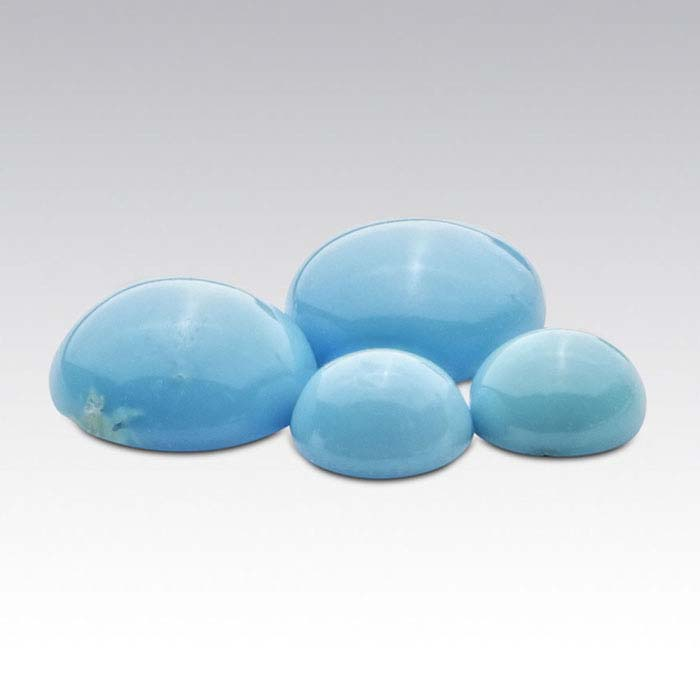 American Mined™ BlueBird Turquoise™ 6mm Round Cabochon