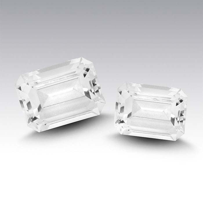 Swarovski Gemstones™ Natural White Topaz Octagon Faceted Stones