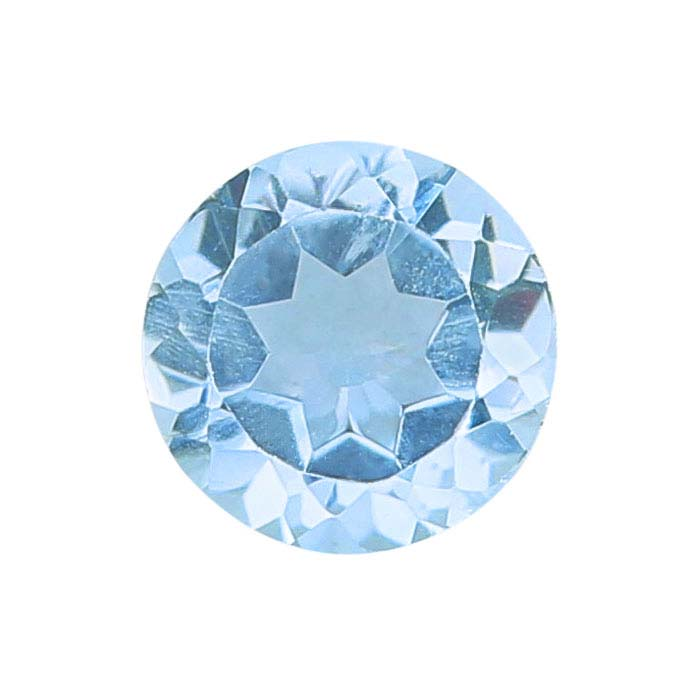 Top Side Drill 10 17x8 Faceted Crystal Drops AB Finish - Sky Blue