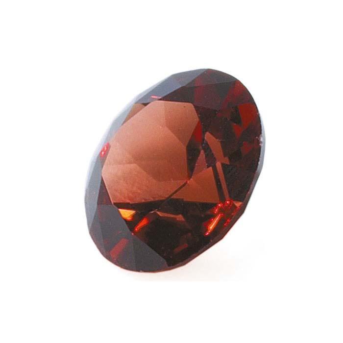 Garnet  Round Machine-Cut Faceted Stones, AA-Grade
