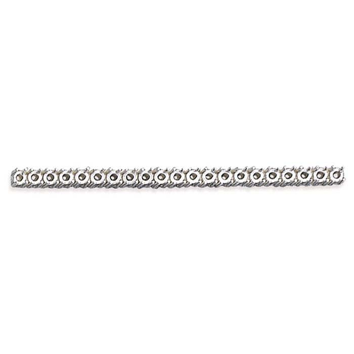 Sterling Silver 3mm Bar 4-Prong Setting