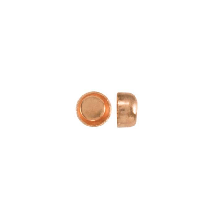 Copper Round Bezel Cup Settings