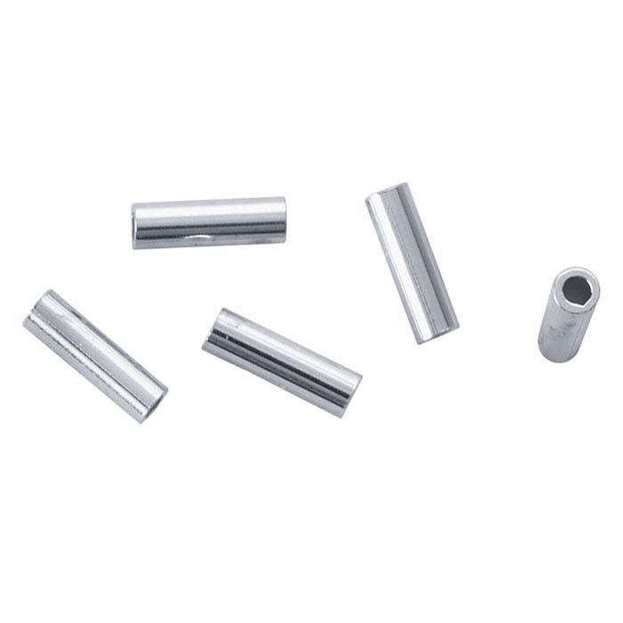 "Argentium® Silver 2.39mm (3/32"") Heishi Bead"