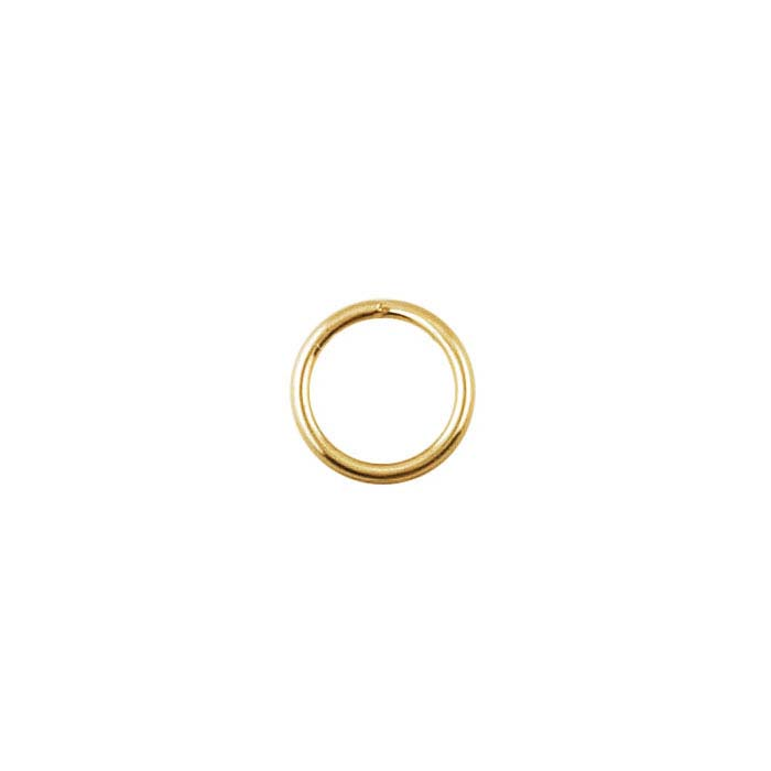10K Yellow Gold 5mm Round Lightweight Split Ring