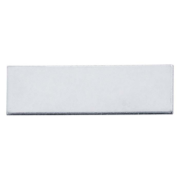 Sterling Silver 31.8 x 9.5mm Rectangle Stamping, 20-Ga., Dead Soft