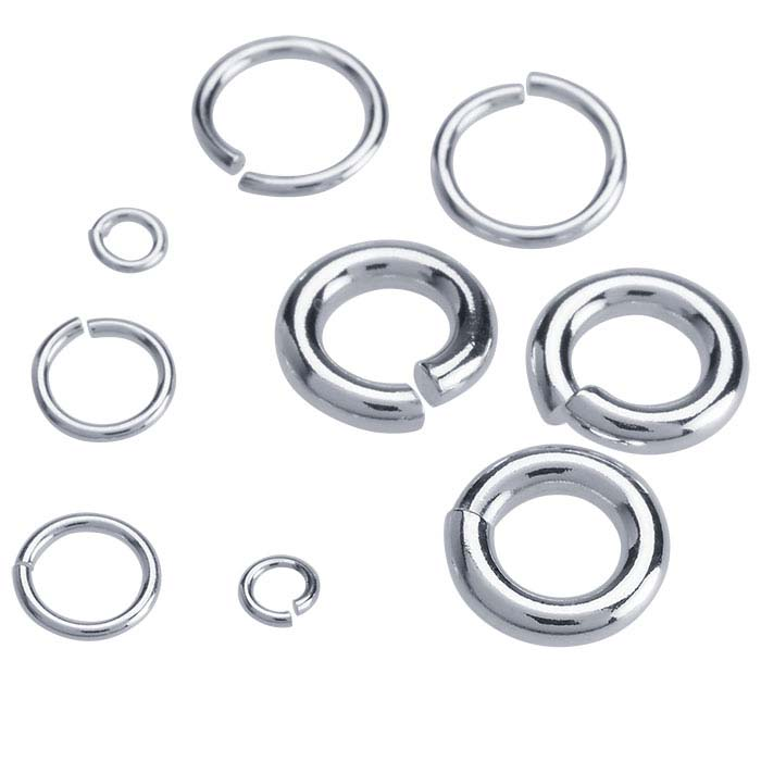 Sterling Silver 4mm Round Jump Ring