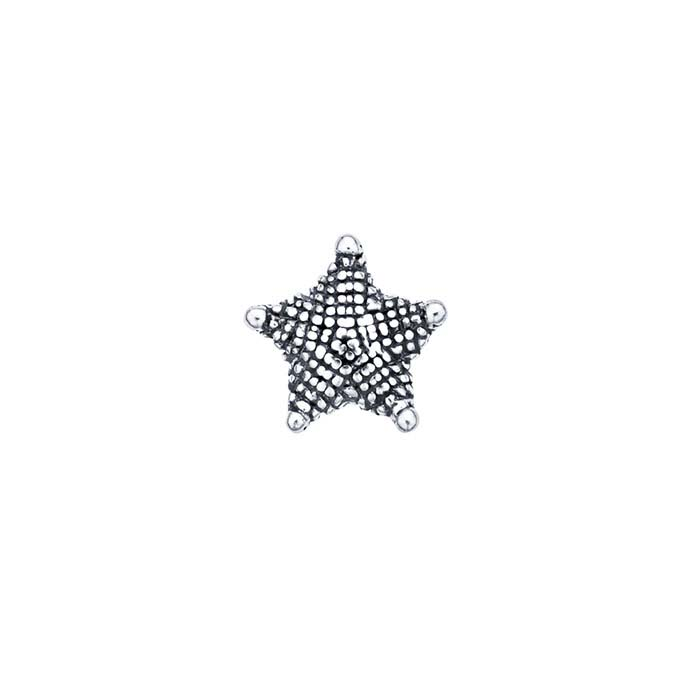 Sterling Silver Starfish Component for Floating Glass Lockets