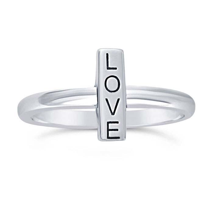 "Sterling Silver ""LOVE"" Rings"