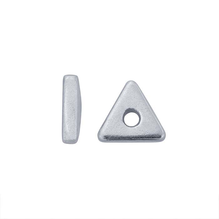 Sterling Silver 4mm Triangle Spacer Bead